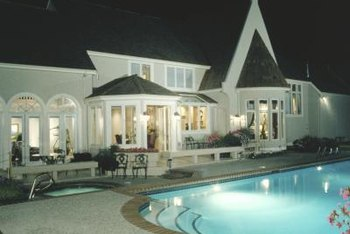 Replace the pool light bulb to avoid swimming in the dark.