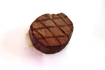 Even a petite filet mignon may contain more than one serving of beef.