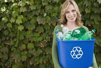Save two-liter plastic bottles from the trash to water your plants.