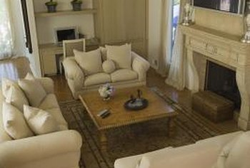 Combining two seating areas in a living room home guides for Living room with 2 seating areas