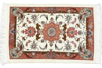 Design, craftsmanship and condition all contribute to a rug's value.