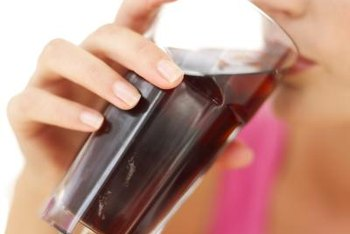 Artificial sweeteners in diet soda may cause changes in mood.