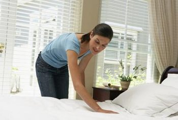 Some pillow-top mattress pads can be removed for washing and maintenance.