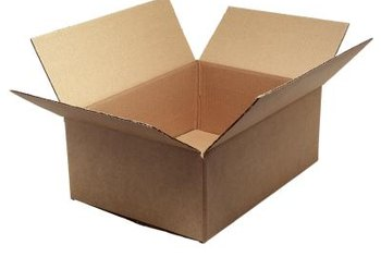 A cardboard box in good condition shouldn't break down too quickly.
