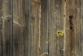 Barn wood is used for picture frames, art and crafts.