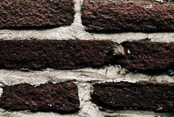 Over time, the mortar between bricks can erode and crack.