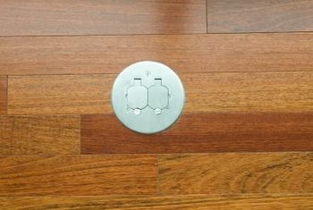A Floor Outlet Can Provide To Objects In The Middle Of Room Without Having