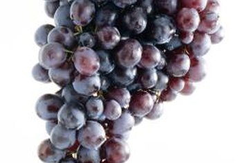 The skin of red grapes contain polyphenols that may protect the heart.