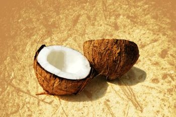 Nothing beats coconuts for tropical feel and flavor.
