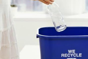 Empty food containers before you recycle them.