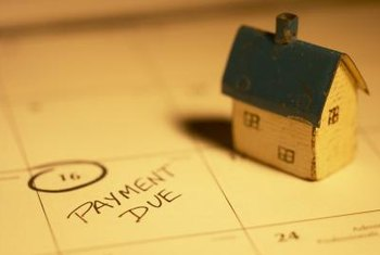 Make your regular mortgage payments on time when you're catching up with previous late payments.