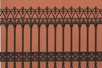 Ornamental landscape fencing is durable and low maintenance.
