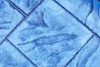 blue floor tiles. Decor Choices Help Minimize The Impact Of Blue Floor Tiles. Tiles R