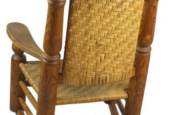 Some Wicker Rocker Repairs Can Be Done At Home Without Assistance.