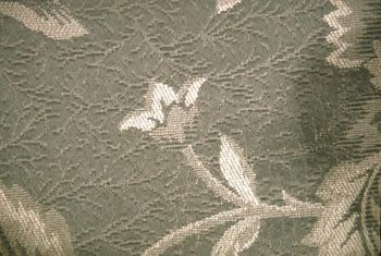 Nearly any fabric can be used for wall upholstery.