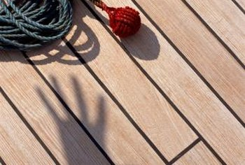 Replace nails on your deck with screws to make it sturdier and last a lot longer.