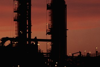 Complex refineries are also known as conversion refineries, and do catalytic or hydro-cracking and coking.
