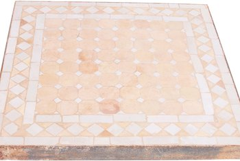 Pink tile can work magic in small spaces.