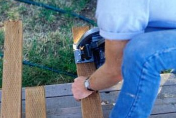You can save on labor costs by doing your own deck repairs.