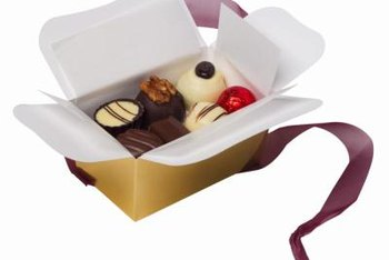 Boxes of chocolate make welcome party favors for guests of any age.