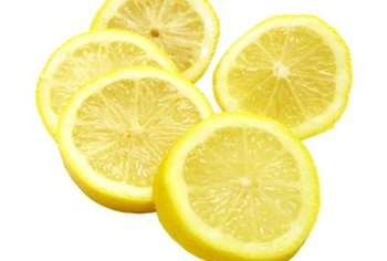 Add essential oils such as lemon to your homemade linoleum cleaner to make the floor smell good.