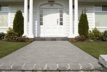 Traditional landscaping creates a classic, timeless appearance.