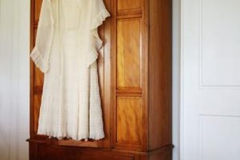 Increase storage capacity with a large armoire.
