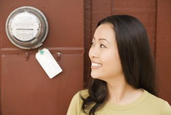 Home electricity meters can reveal how much you save from going green.