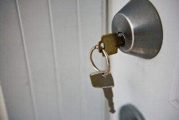 Double Keyed Deadbolts Provide An Additional Layer Of Security For Door  With Glass Inserts.