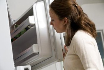 A foul smell in your freezer may be coming from behind the liner.