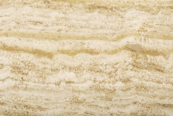 Travertine has been used in construction since the days of the Roman Empire.