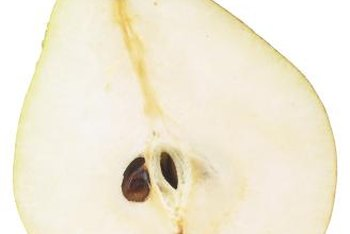Depulping is necessary to extract seed from the pear fruit.