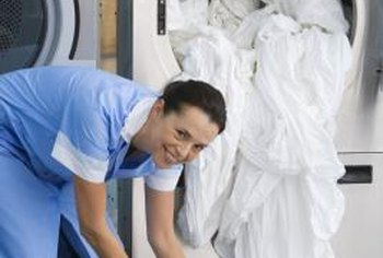 Avoid overloading the dryer to keep sheets wrinkle-free.