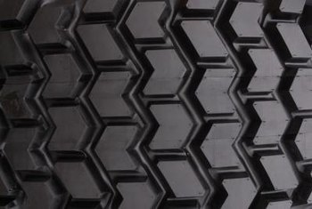 Different tire treads can offer more or less traction on the ground.