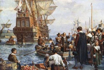 Early Colonists bravely sailed to the New World to create a new life.