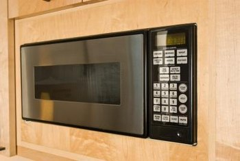 Built-in microwaves often use trim kits.