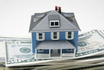 Your home sits on a stack of the bank's money.