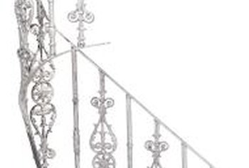 Ornate railings require more effort to repair than simple ones.