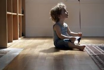 Keep floors especially clean in homes with children.