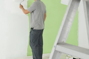 Landlords may deduct for a portion of your deposit for paint.