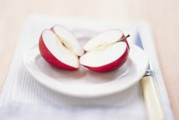 Apples are a better source of fiber than applesauce.