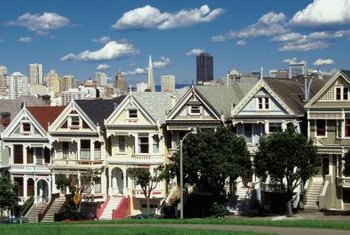 "Called ""Painted Ladies,"" Victorian homes have the advantage of kitchens with ample workspace."