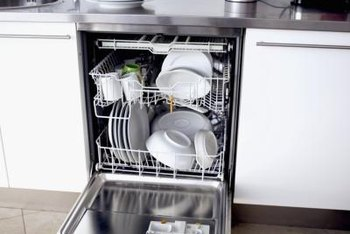 A tall-tub dishwasher typically has a taller bottom rack.