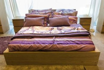 Comfy sheets help you feel relaxed and rested.