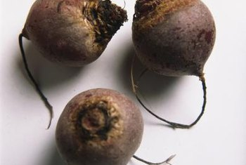 Beets are high in antioxidants.