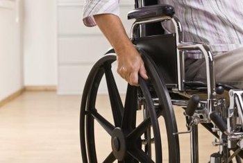 Wheelchair-friendly flooring is smooth with enough traction for easy maneuvering.