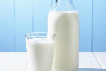Milk contains lactose and casein.