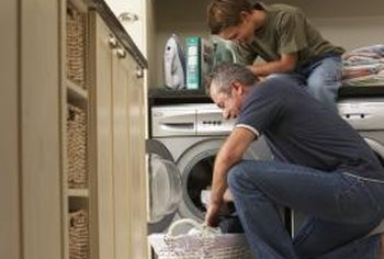 Having a laundry area in the kitchen, which is common in Europe, can provide convenience.