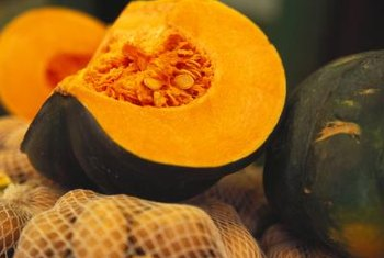 Many orange foods, such as pumpkin, provide beta-carotene, which your body converts to the antioxidant vitamin A.
