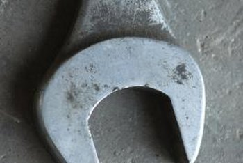 Use a wrench based on the size of a compression fitting nuts.